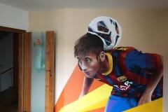 Neymar-graffiti-do-pokoje