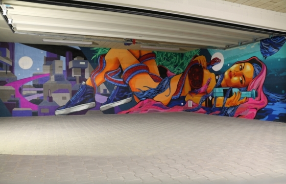 graffiti-malba-v-garáži