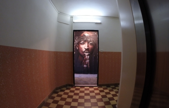 2Pac graffiti art