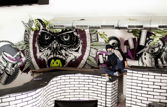 graffiti art studio